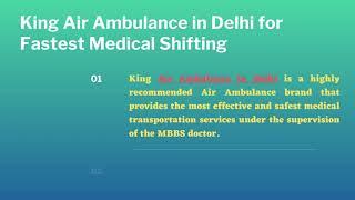 Air Ambulance in Patna for Emergency Transportation