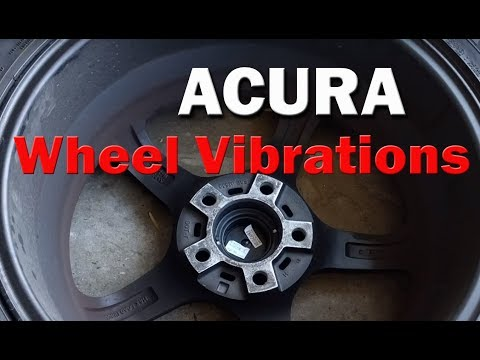 Acura Honda - Steering Wheel Vibrations with Aftermarket Wheels