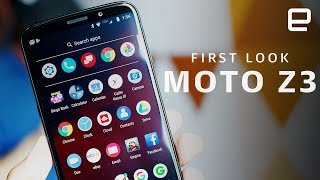 Motorola Moto Z3 First Look: Looking Ahead to 5G