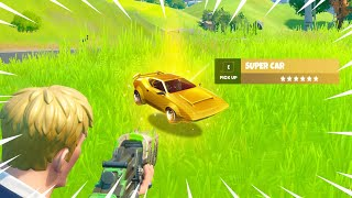 MYTHIC Cars in The NEW Update of Fortnite!