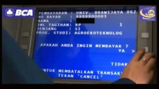 Cara Pembayaran SPP Di UB Melalui ATM