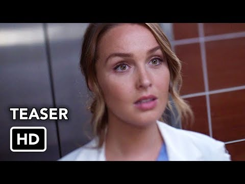 Grey's Anatomy Season 14B (Teaser)