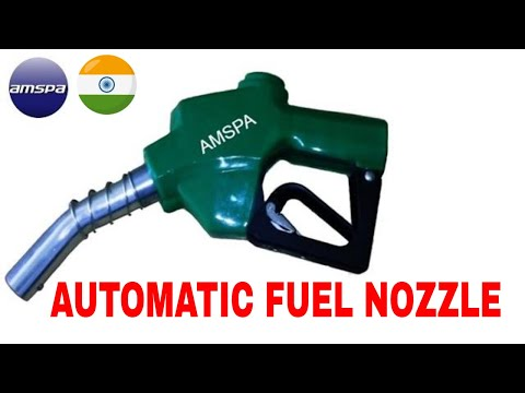 Automatic Shut Off Nozzle