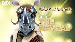 The Rhino Is Revealed As Barry Zito   Season 3 Ep. 16   THE MASKED SINGER