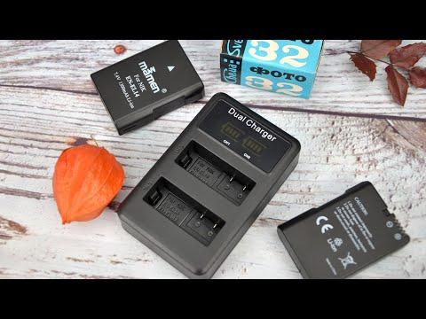 Mamen аккумуляторные батареи EN-EL14 для Nikon + зарядное устройство