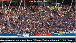 India Vs England Final Over T20 2014