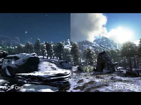 ARK: Survival Evolved : ARK Survival Evolved - Comparaison Xbox One X et Xbox One
