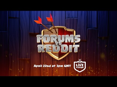 'Clash of Clans' Livestreaming Team Forums Vs Team Reddit Clan War Tomorrow