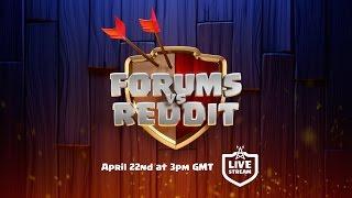Clash of Clans - Forums vs Reddit Livestream Tease