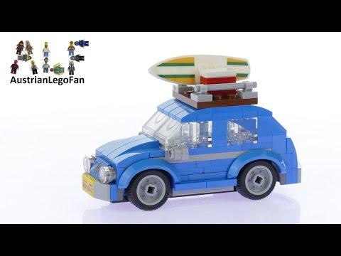 Vidéo LEGO Creator 40252 : La mini Coccinelle VW