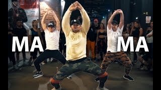 "6ix9ine   ""MAMA"" Ft Kanye West & Nicki Minaj Dance 