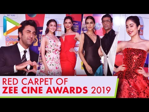 Bollywood Celebs Attend RED CARPET of Zee Cine Awards 2019 – Part 6