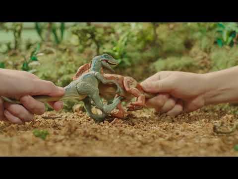 『ジュラシック・ワールド』最強恐竜バトル ブルー VS スティギー