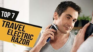 BEST TRAVEL ELECTRIC RAZOR! (2020)
