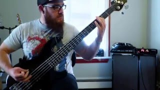 Every Time I Die - Tusk and Temper (Bass Cover)
