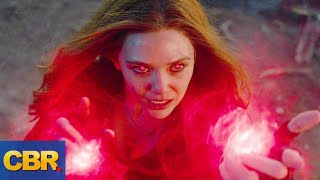 Scarlet Witch Will Be The Next Big MCU Villain - YouTube