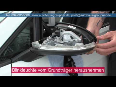 Einbau Dynamischer Blinker Dyna Blink am VW Golf 7