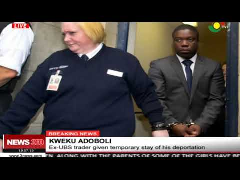 Ex UBS trader, Kweku Adoboli given temporary stay of his deportation