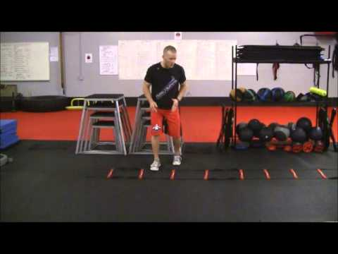 Agility Ladder Ali Shuffle - exercise of the week