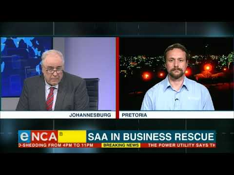 Solidarity says SAA going into business rescue is a 'historic event'