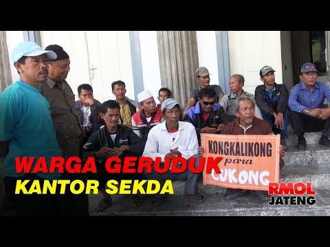 Warga Mangkang Geruduk Kantor Sekda Kota Semarang