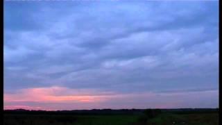 preview picture of video 'Zachód słońca - 23.08.2010 - Sobki - Gm. Zelów'