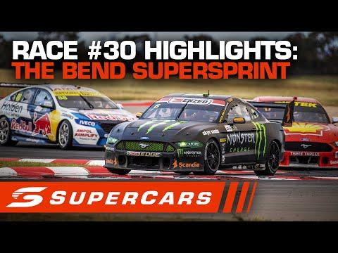 2020年 SUPERCARS OTRザベンド500 スーパースプリント#30決勝レースハイライト動画