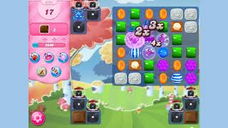 Candy Crush Saga Level 3154 24 moves NO BOOSTERS Cookie