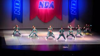 2015 NDA DanzForce Academy Elite Small Senior Coed HipHop Saturday