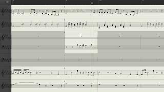 Animal Collective - Seal Eyeing (Music Score)