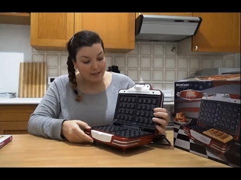Piastra Waffle Silvercrest/Lidl | Recensione - SugarDany89