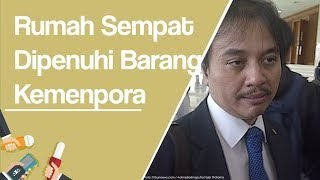 Rumah Roy Suryo di Yogyakarta Sempat Dipenuhi Barang Kemenpora