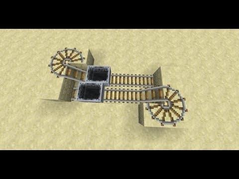 minecraft how to make powered railroads
