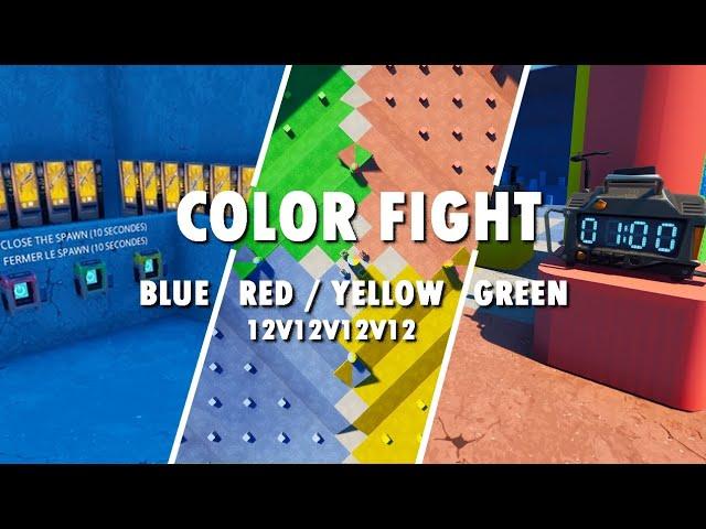 COLOR FIGHT RED/BLUE/YELLOW/GREEN 12V12V12V12
