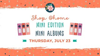 Shop @home Mini - Mini Albums