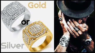 Best Mens Rings 2020 / Silver Or Gold Ring   StavFashion