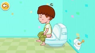Toilet Training - Baby's Potty iPhone Gameplay #DroidCheatGaming