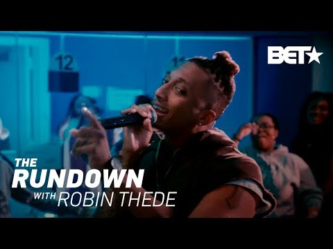 Lecrae's Pop-Up Concert | The Rundown With Robin Thede