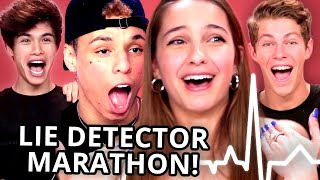 LIE DETECTOR FAIL Compilation - Lexi Rivera, Ben Azelart, Stokes Twins, Larray, & MORE!