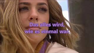 Wie Es Einmal War   Vanessa Mai (mit Lyrics)