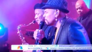 Aaron Neville Quintet on the Today Show 1/23/2012