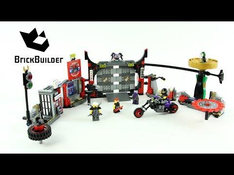 Vidéo LEGO Ninjago 70640 : Le QG du Gang des Fils de Garmadon
