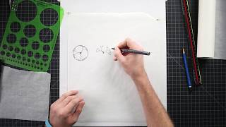 How To Draw Plan Trees For Landscape Design Part 1