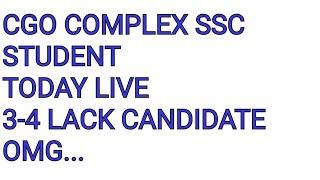SSC NEWS LIVE DELHI 1st April 3 4 Lack Candidate Aachuke H CGO Complex New Delhi