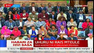 President Uhuru Kenyatta's full speech at Bomas of Kenya
