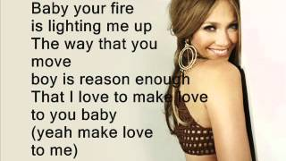 Jennifer Lopez ft. Pitbull - Dance again (Lyrics On Screen) NEW 2012