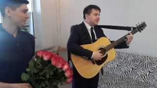 Музыкант на праздник Уфа, живая открытка Уфа,