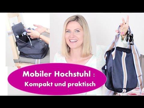 Hochstuhl für unterwegs: kompakt und praktisch | Mit Baby unterwegs | Roba Boostersitz