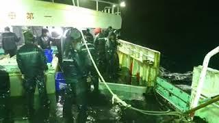 Kapal Longline Operasi NEWZEALAND Klo Laut Lagi Merajuk Begini...ngeri Banget...