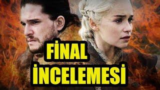 Game of Thrones 8. Sezon 6. Bölüm İNCELEMESİ - VE NÖBETİMİZ SONA ERDİ
